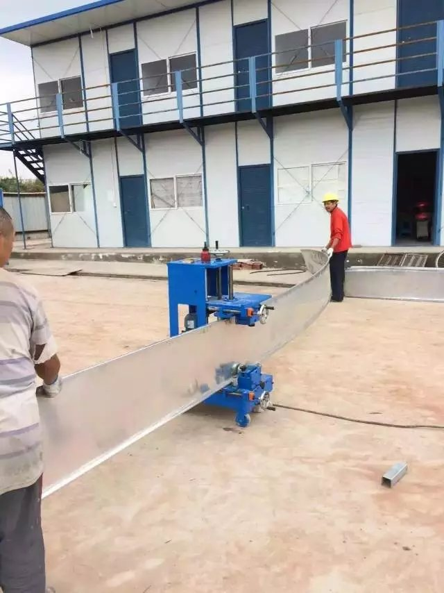 Manual Curving Machine For Yx25 38 Standing Seam Roof